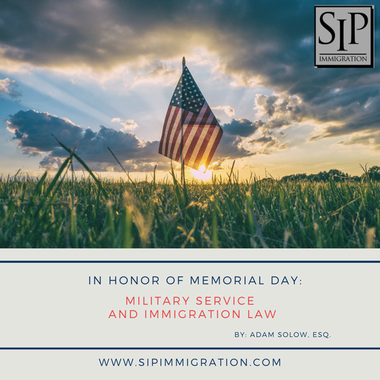honoring memorial day immigration naturalization